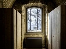 monte ricco fort -  inside - photo giacomo de donà