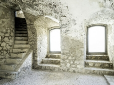 monte ricco fort -  underground rooms - photo giacomo de donà