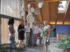 paleontological museum rinaldo zardini - cortina d'ampezzo - la cura dello sguardo (summer 2013)