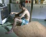 guy ben ner, berkeley's island, still da video, 1999