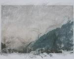 laura pugno, esitando III abrasione di stampa fotografica, 60x84 cm, 2011, foto a. montresor