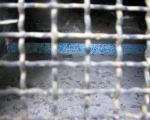 nicola genovese, sighting, Installazione nel bunker, 6 metri quadri di mosaico mixed blue e libro d'artista.