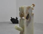 paolo gonzato, senza titolo, carotatura su marmo del portogallo, dimensioni variabili, 2011, foto e. bertaglia