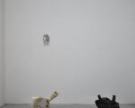 paolo gonzato, allestimento nel padiglione pavione (mostra Azimut, a cura di alice ginaldi) foto e. bertaglia