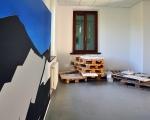 priscilla tea - untitled (mountain II), 2011, acrylic and paste on canvas, 200x300, foto e. bertaglia, part.
