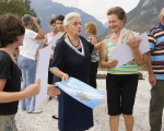 rachele maistrello - beyond tropici/behind tropici - performance, cava 2 sass muss - estate 2011