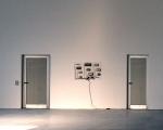 Roberto Pugliese, Kinetik Orchestra, 2011, metallo, plexiglass, magneti, circuiti, 120 x 70 x 20 cm, Dolomiti Contemporanee, Sass Muss, Installazione nel Padiglione Schiara, in Contractions, a cura di D. Capra, courtesy dell'artista e Galerie Mario Mazzoli, Berlin, foto E. Bertaglia