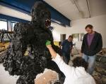 Gino Blanc, Kong plastic evolution, processo, foto Giacomo De Dona