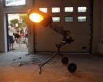 DC next_taibon blocco_trifase_martino genchi_questo mondo non ha il tetto_2010_materiali vari e lampione_150x150cm