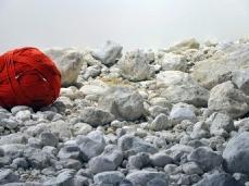 dc next - blocco taibon - agner, part. - installazione di hubert kostner/galleria goethe bolzano/dc/salewa - foto e. bertaglia