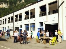 una delle inaugiurazioni estive 2012 nel blocco_foto giacomo de dona