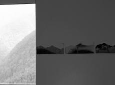 denis riva, cambio di muta, landscapes in - foto sergio casagrande