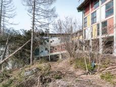 Ditte boschive in azione all'ex Villaggio Eni, esbosco e pulizia_aprile 2019_Foto Nicola Noro