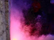 #fuocoapaesaggio la performance di mario tomè con demis.  foto: brando prizzon