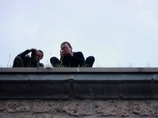 fuocoapaesaggio - sul tetto.  foto: brando prizzon