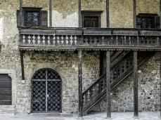 la casa natale di tiziano vecellio a pieve di cadore (part.) - foto giacomo de donà