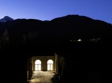 forte di monte ricco - esterno notte - foto giacomo de donà