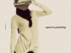 Flyer_open in painting_rifugio brigata alpina cadore