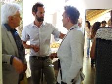 """opening """"La cura dello sguardo""""_Museo Paleontologico Rinaldo Zardini di Cortina_foto Elisa Bertaglia"""