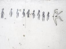 Ex Cartiera di Vas, Opening Paper weight, Maja Thommen nel Ventre dell'acqua (spazio in cui B.Meoni ha invitato a intervenire)  Foto: Giacomo De Donà