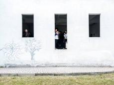 Ex Cartiera di Vas, Opening Paper weight, paesaggio-finestra-paesaggio  Foto: Giacomo De Donà