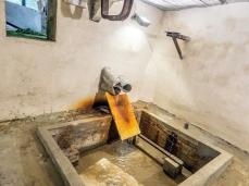 Ex Cartiera di Vas, Opening Paper weight, vasche e chiuse sotto. Foto: Giacomo De Donà