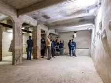 Ex Cartiera di Vas, Opening Paper weight, i locali bassi.  Foto: Giacomo De Donà