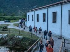 Ex Cartiera di Vas, Opening Paper weight, trasferimenti, le acque, la dorsale pedemontana.  Foto: Giacomo De Donà