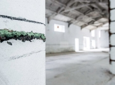 Ex Cartiera di Vas, Opening Paper weight, The line, Phillippa Peckham.  Foto: Giacomo De Donà
