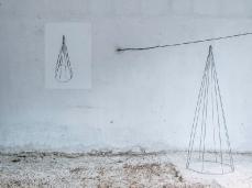 Ex Cartiera di Vas, Opening Paper weight, nella stanza di Elena Carozzi.  Foto: Giacomo De Donà