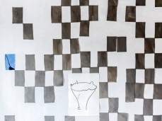 Ex Cartiera di Vas, Opening Paper weight, Geometrie imperfette, E. Carozzi con P.Peckham e B. Meoni Foto: Giacomo De Donà
