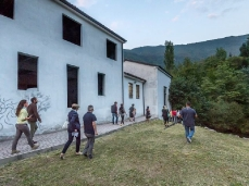 Ex Cartiera di Vas, Opening Paper weight, trasferimenti.  Foto: Giacomo De Donà