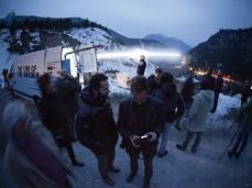 La fine del confine – 5 marzo 2013 – Diga del Vajont - Foto Giacomo De Donà