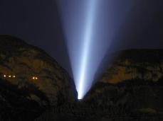 La fine del confine – 5 marzo 2013 – Diga del Vajont - Foto Alberto Montresor