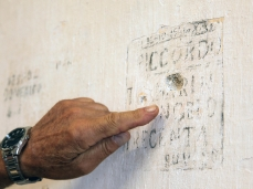 alessandro sambini, angelo tramarin: la scritta sul muro del forte, trecenta