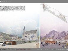 Tavola 4. Progetto | La piazza