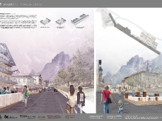 Tavola 5. Progetto | La passeggiata urbana