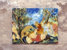 Sophie Westerlind_Il Baccanale degli Andrii, 2019, olio su lino, 85x100cm_Foto G. De Donà