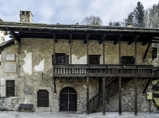 La Casa Natale di Tiziano Vecellio a Pieve, gestita dalla Magnifica Comunità di Cadore. Foto Giacomo De Donà