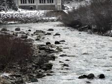 valle imperina, attuale centro visitatori parco e torrente cordevole, foto sergio casagrande
