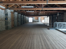 valle imperina, primo piano edificio scuderie, foto giacomo de dona