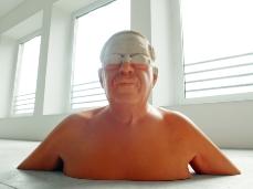 willy verginer, cecità voluta (deliberate blindness), upokeimenon (sott'acque), nuovo spazio di casso - foto giacomo de donà