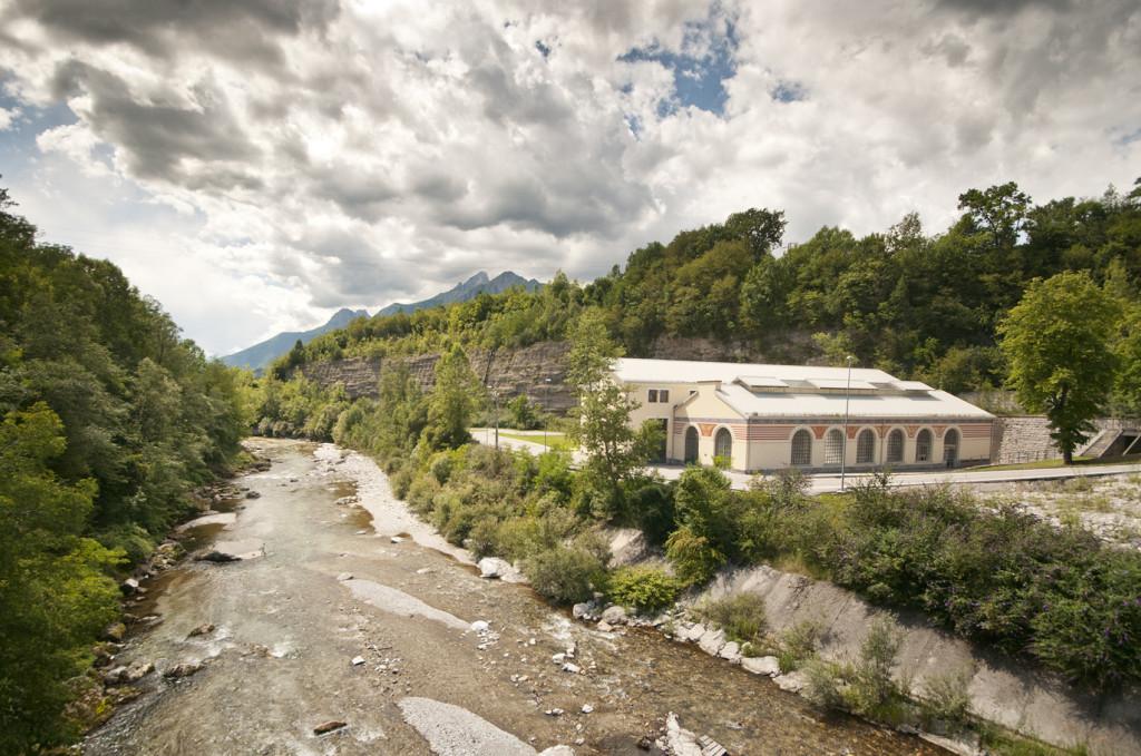 dolomiti contemporanee - il sito di sass muss - arte in ambiente - foto g. de dona