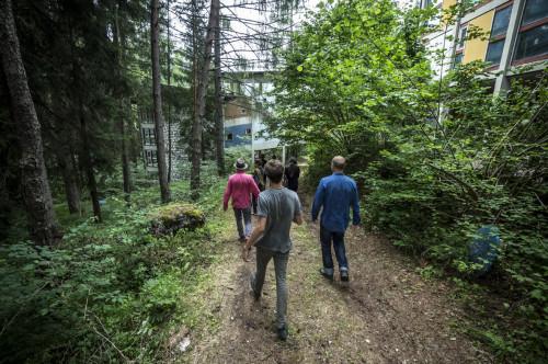 progettoborca, esplorazioni al villaggio - foto giacomo de donà