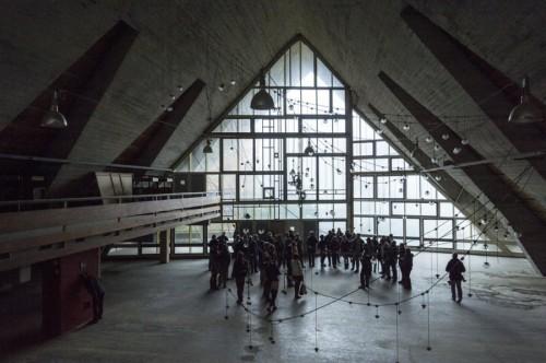 progettoborca, aula magna della colonia_foto giacomo de dona