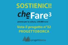 Vota Progettoborca nel concorso CheFare3
