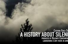 "Giovedì 18 ottobre, Proiezione di ""A History about silence"", di Caterina Erica Shanta, al Cos.mo"